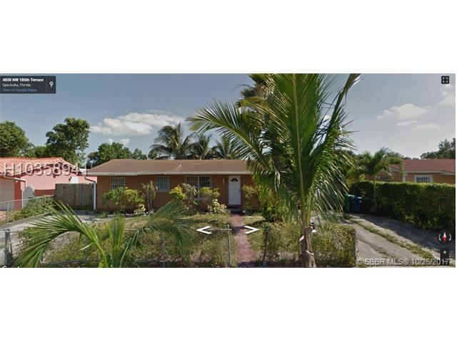 4830 185th Ter, Miami Gardens, FL 33055 (MLS #H10358941) :: RE/MAX Presidential Real Estate Group