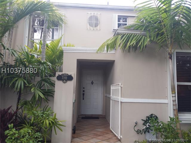 7091 56 ST (MILLER DR)) #7091, Miami, FL 33155 (MLS #H10375880) :: Green Realty Properties