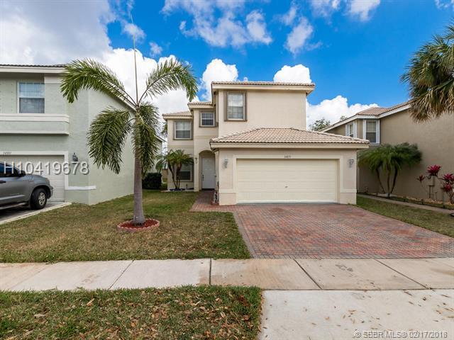 14871 18th St, Miramar, FL 33027 (MLS #H10419678) :: Green Realty Properties