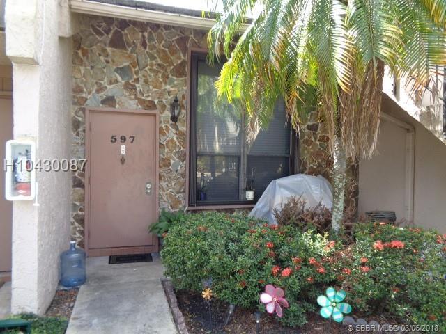 597 University Dr #29, Plantation, FL 33324 (MLS #H10430087) :: Green Realty Properties