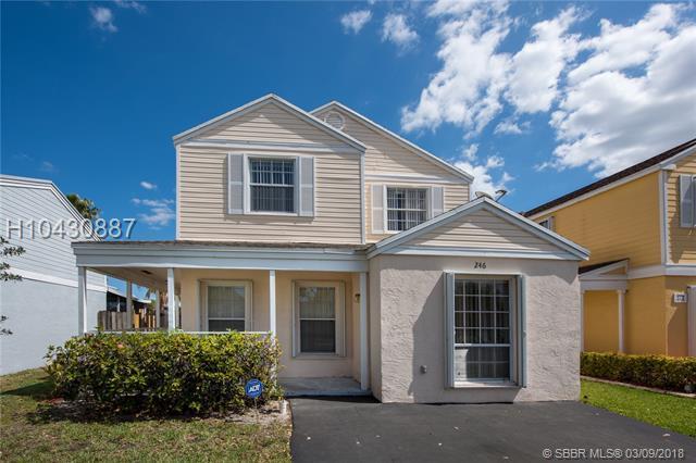 246 159th Ave, Sunrise, FL 33326 (MLS #H10430887) :: Green Realty Properties