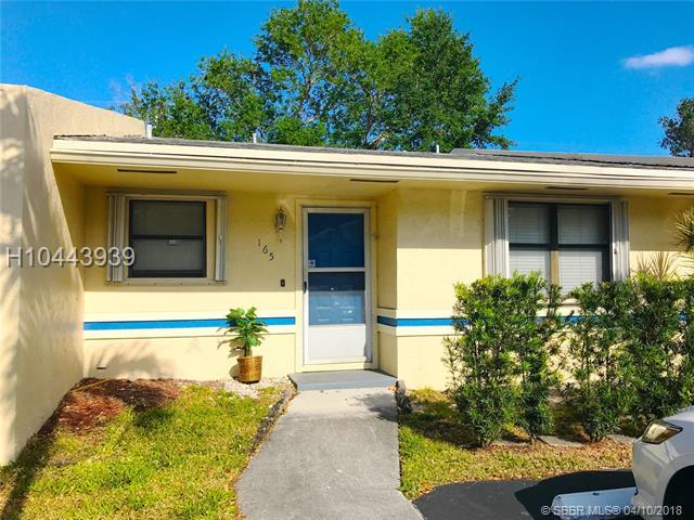 5201 31st Ave #165, Fort Lauderdale, FL 33312 (MLS #H10443939) :: Green Realty Properties