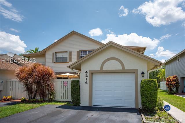 4216 120th Ln #4216, Sunrise, FL 33323 (MLS #H10458243) :: Green Realty Properties