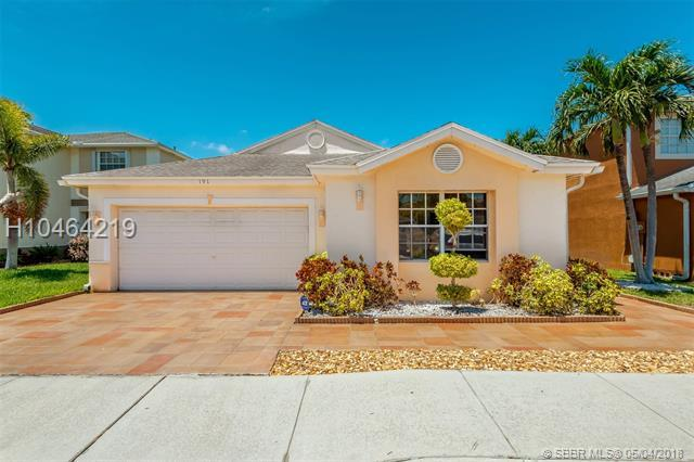 191 Riverbend Dr, Sunrise, FL 33326 (MLS #H10464219) :: Green Realty Properties
