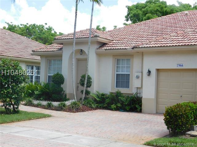 7966 20th St, Pembroke Pines, FL 33024 (MLS #H10480261) :: Green Realty Properties