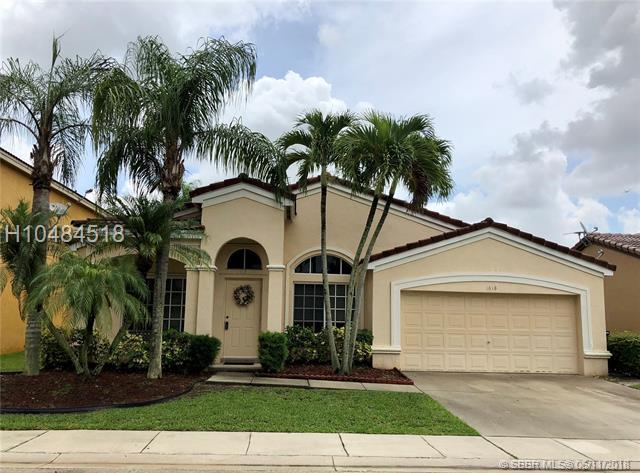1618 108 Way, Davie, FL 33324 (MLS #H10484518) :: Green Realty Properties