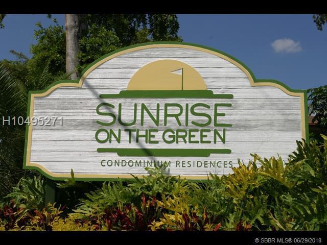 4015 University Dr #102, Sunrise, FL 33351 (MLS #H10495271) :: Green Realty Properties