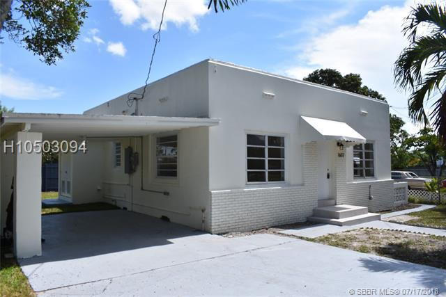 1602 82nd St, Miami, FL 33147 (MLS #H10503094) :: Green Realty Properties