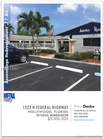 1223 Federal Hwy, Hollywood, FL 33020 (MLS #H10513667) :: Green Realty Properties