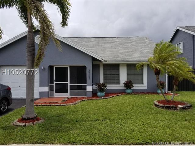 3243 121 Ave, Sunrise, FL 33323 (MLS #H10520772) :: Green Realty Properties