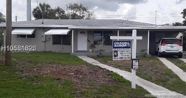 1101 51st Ave, Plantation, FL 33317 (MLS #H10531823) :: Green Realty Properties