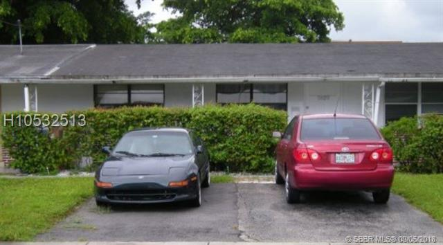 5820 12th St D, Sunrise, FL 33313 (MLS #H10532513) :: Green Realty Properties