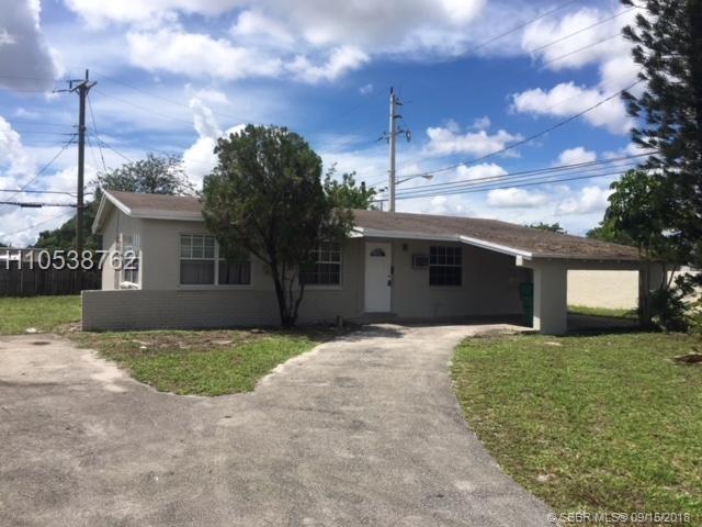 1891 33rd Ave, Lauderhill, FL 33311 (MLS #H10538762) :: Green Realty Properties
