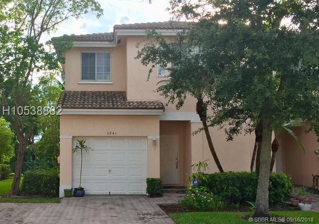 3941 92nd Ave #3941, Sunrise, FL 33351 (MLS #H10538882) :: Green Realty Properties