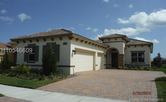 22043 Tivolo Way, Port St. Lucie, FL 34984 (MLS #H10546609) :: Green Realty Properties