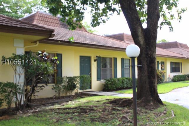 2311 70th Ave #42, Davie, FL 33317 (MLS #H10551421) :: Green Realty Properties