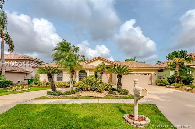 3443 Madrid Ave, Cooper City, FL 33026 (MLS #H10554488) :: Green Realty Properties