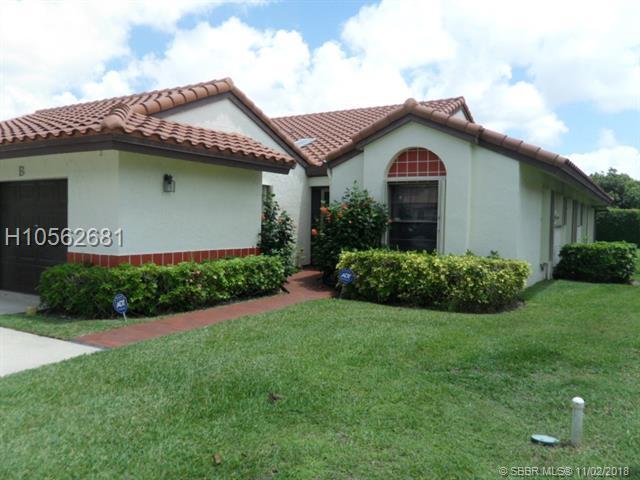 10606 Beach Palm Ct B, Boynton Beach, FL 33437 (MLS #H10562681) :: Green Realty Properties