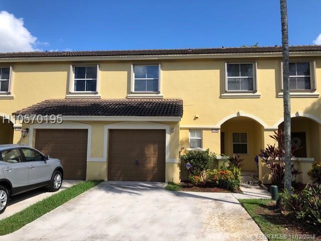 145 168 Terr, Pembroke Pines, FL 33027 (MLS #H10570195) :: Green Realty Properties