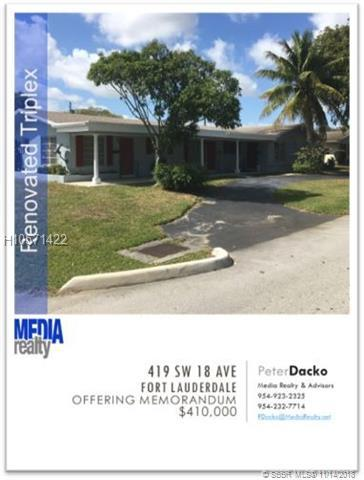 419 18th Ave, Fort Lauderdale, FL 33312 (MLS #H10571422) :: Green Realty Properties