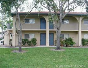 7625 42nd Pl #127, Sunrise, FL 33351 (MLS #H10573315) :: Green Realty Properties