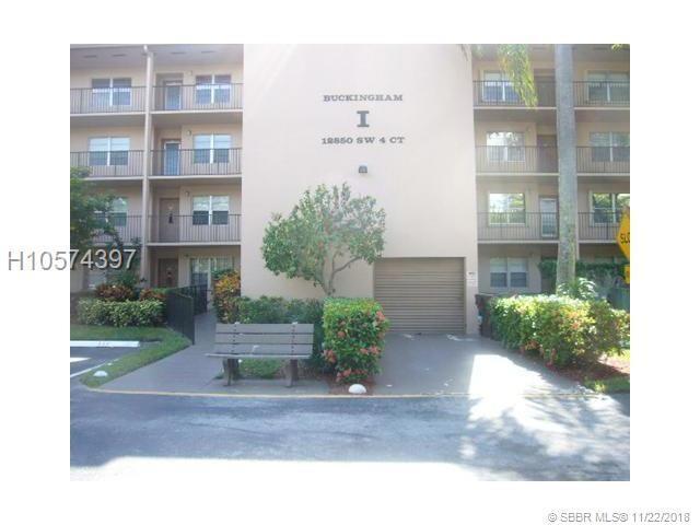 12850 4th Ct 413I, Pembroke Pines, FL 33027 (MLS #H10574397) :: Green Realty Properties