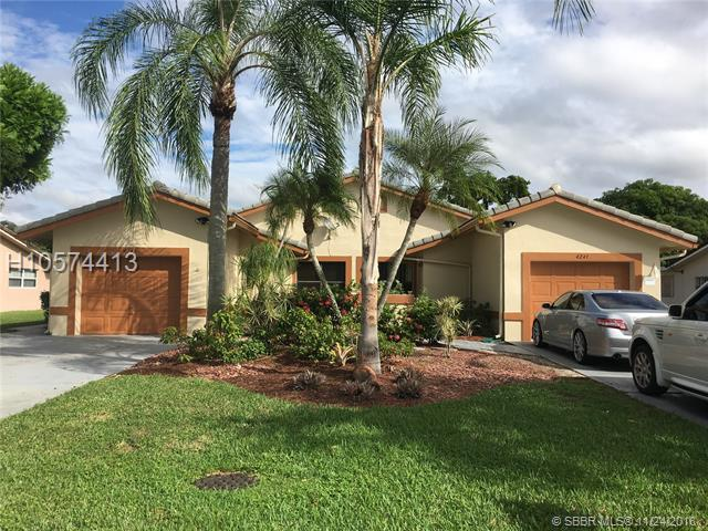 4241-4243 110th Ave, Coral Springs, FL 33065 (MLS #H10574413) :: Green Realty Properties