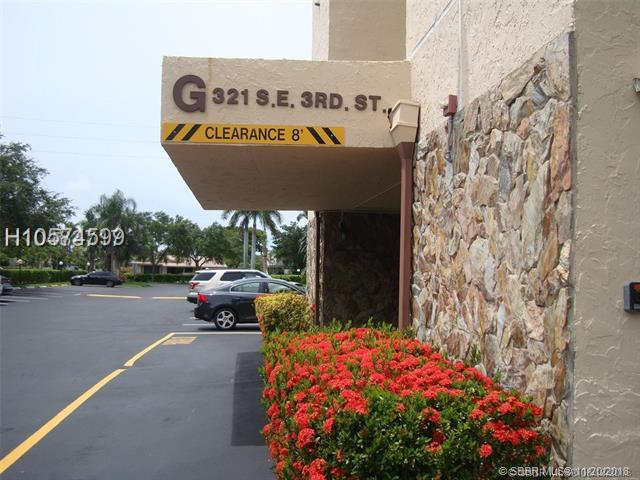 321 3rd St #408, Dania Beach, FL 33004 (MLS #H10574599) :: Green Realty Properties