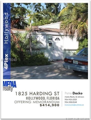 1825 Harding St, Hollywood, FL 33020 (MLS #H10579240) :: Green Realty Properties