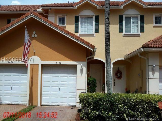 6452 Catalina Lane, Tamarac, FL 33321 (MLS #H10668497) :: RE/MAX Presidential Real Estate Group