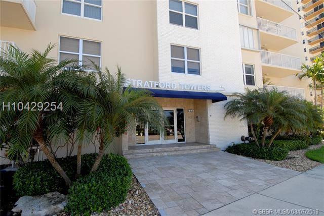 1401 Ocean Dr #105, Hollywood, FL 33019 (MLS #H10429254) :: Green Realty Properties