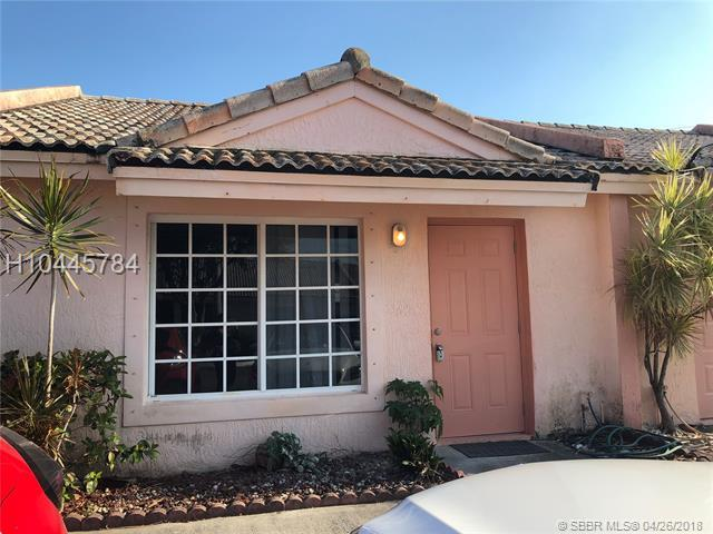 500 3rd St #110, Hallandale, FL 33009 (MLS #H10445784) :: Green Realty Properties