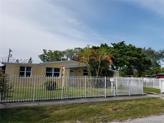 80 120th St, North Miami, FL 33168 (MLS #H10505499) :: Green Realty Properties