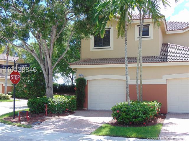 3926 Mango Dr, Weston, FL 33332 (MLS #H10538846) :: Green Realty Properties