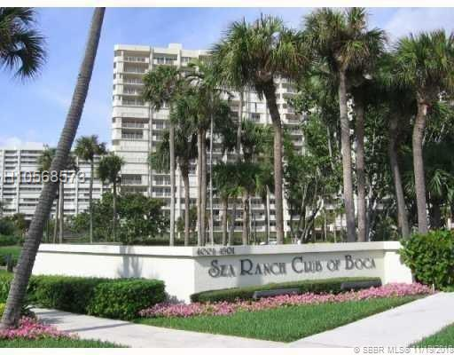 4201 Ocean Blvd #302, Boca Raton, FL 33431 (MLS #H10568573) :: Green Realty Properties