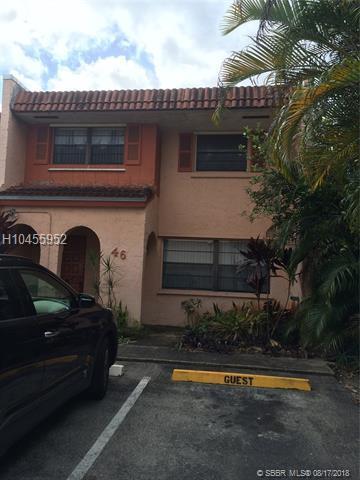 46 Seville Cir 5-47, Davie, FL 33324 (MLS #H10455952) :: Green Realty Properties