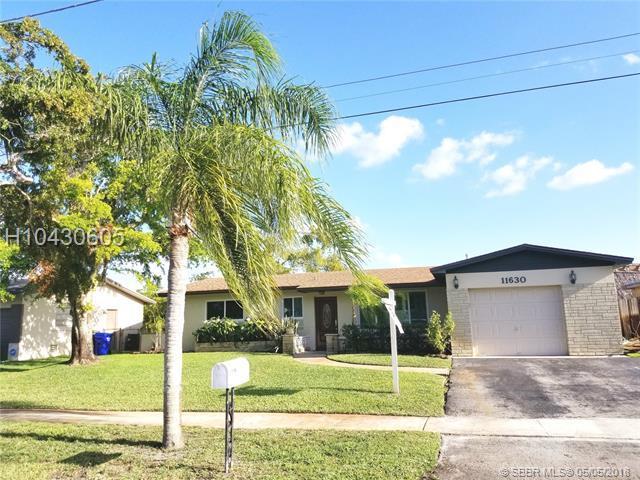 11630 Sheridan St, Pembroke Pines, FL 33026 (MLS #H10430605) :: Green Realty Properties