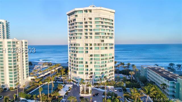 1700 Ocean Blvd 17C, Lauderdale By The Sea, FL 33062 (MLS #H10386503) :: Green Realty Properties