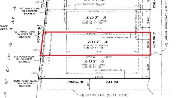 4603 Laguna Dr., South Padre Island, TX 78597 (MLS #94345) :: The MBTeam