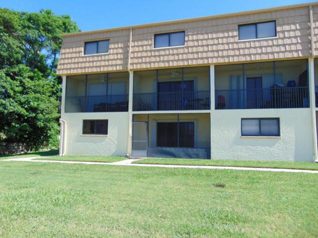 7101 Ridgewood Avenue #105, Cape Canaveral, FL 32920 (MLS #790105) :: Pamela Myers Realty