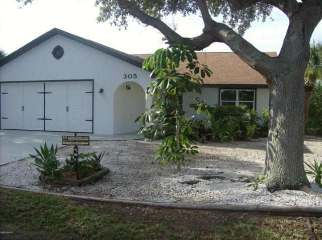 305 Beverly Court, Melbourne Beach, FL 32951 (MLS #793466) :: Better Homes and Gardens Real Estate Star