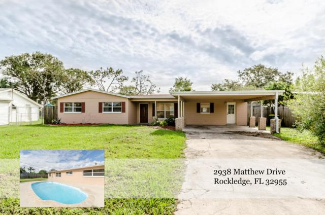 2938 Matthew Drive, Rockledge, FL 32955 (MLS #798719) :: Better Homes and Gardens Real Estate Star