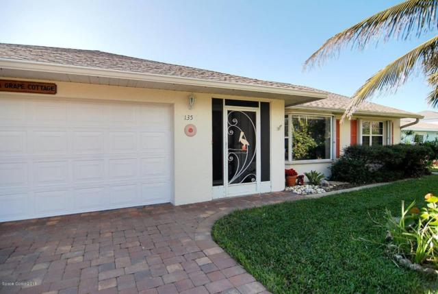 135 Flores Street, Melbourne Beach, FL 32951 (MLS #803038) :: The Keith Brodsky Team with RE/MAX Classic