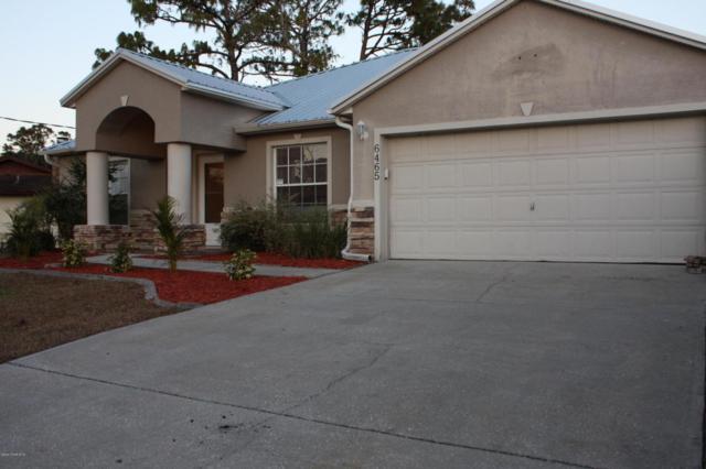 6465 Aberfoyle Avenue, Cocoa, FL 32927 (MLS #803114) :: Pamela Myers Realty
