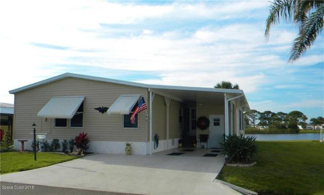 7672 Great Bear Lake Drive #18, Micco, FL 32976 (MLS #805089) :: Pamela Myers Realty
