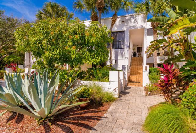 274 Aquarina Boulevard #274, Melbourne Beach, FL 32951 (MLS #805350) :: Pamela Myers Realty