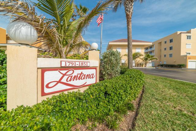 1791 Highway A1a #1106, Indian Harbour Beach, FL 32937 (MLS #805456) :: Pamela Myers Realty