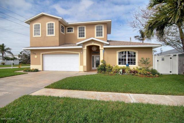 398 Sheridan Avenue, Satellite Beach, FL 32937 (MLS #805469) :: Pamela Myers Realty