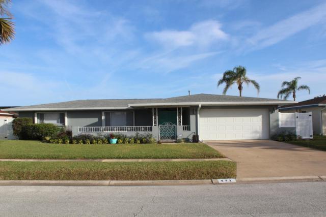 471 Port Royal Boulevard, Satellite Beach, FL 32937 (MLS #805602) :: Better Homes and Gardens Real Estate Star