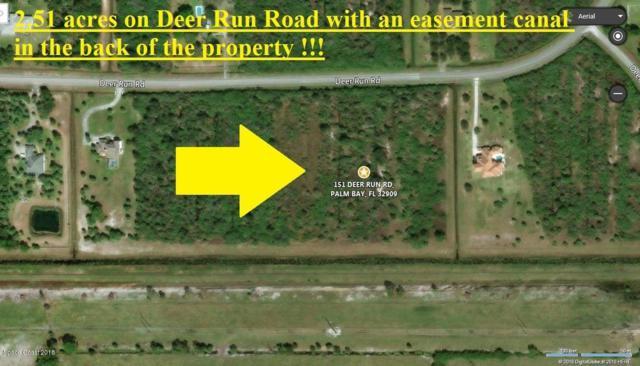 151 Deer Run Road, Palm Bay, FL 32909 (MLS #805611) :: Better Homes and Gardens Real Estate Star